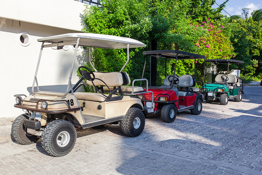Davis Islands Golf Cart Community