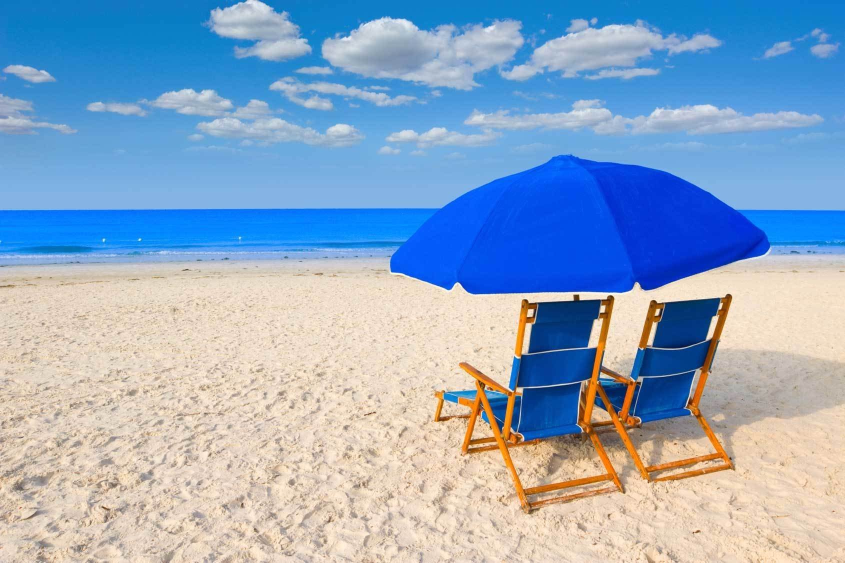 Top Beaches with Chair and Umbrella