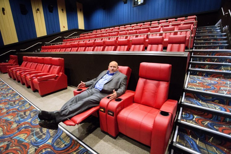 Cobb Luxury Theatre Seating
